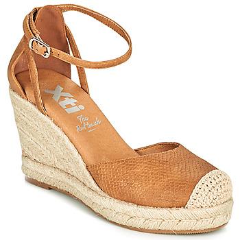 鞋子 女士 帆布便鞋 Xti 波尔蒂伊 NINA 棕色