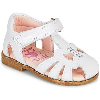 鞋子 女孩 凉鞋 Pablosky PAMMO 白色