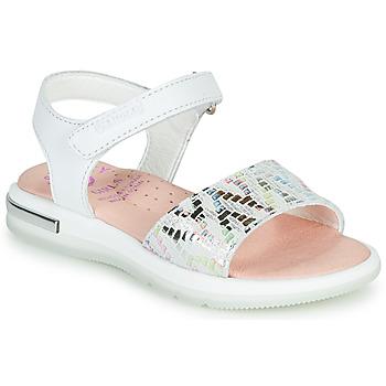 鞋子 女孩 凉鞋 Pablosky CAMMI 白色 / 彩色