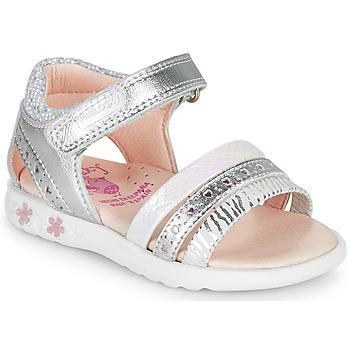 鞋子 女孩 凉鞋 Pablosky ELLO 银灰色