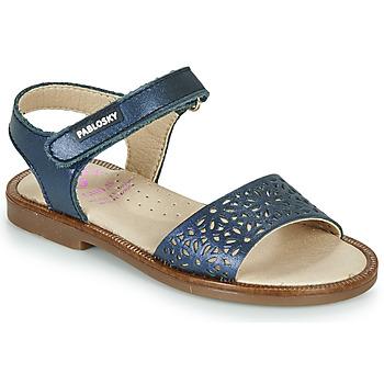 鞋子 女孩 凉鞋 Pablosky LILLA 海蓝色