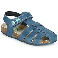 鞋子 男孩 凉鞋 Pablosky DAMMI 蓝色