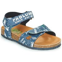 鞋子 男孩 凉鞋 Pablosky FOUNIR 蓝色