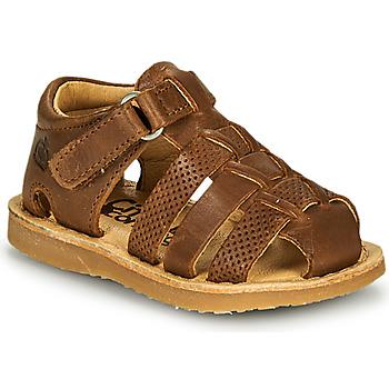 鞋子 男孩 凉鞋 Citrouille et Compagnie MISTIGRI 驼色