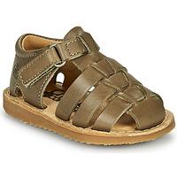 鞋子 男孩 凉鞋 Citrouille et Compagnie MISTIGRI 卡其色