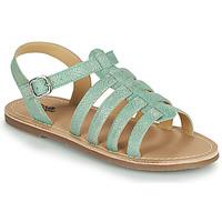 鞋子 女孩 凉鞋 Citrouille et Compagnie MAYANA 松石绿