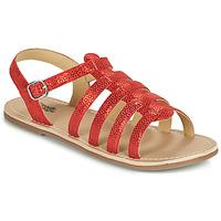 鞋子 女孩 凉鞋 Citrouille et Compagnie MAYANA 红色