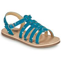 鞋子 女孩 凉鞋 Citrouille et Compagnie MAYANA 蓝色