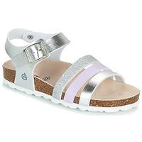 鞋子 女孩 凉鞋 Citrouille et Compagnie OMAYA 银色