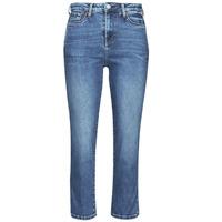 衣服 女士 紧身牛仔裤 Pepe jeans DION 7/8 蓝色 / Edium