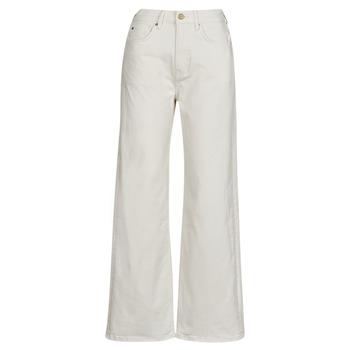 衣服 女士 直筒牛仔裤 Pepe jeans LEXA SKY HIGH 白色