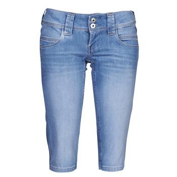 衣服 女士 七分裤 Pepe jeans VENUS CROP 蓝色