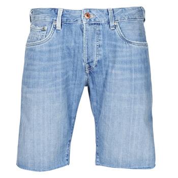 衣服 男士 短裤&百慕大短裤 Pepe jeans STANLEU SHORT BRIT 蓝色 / 米色