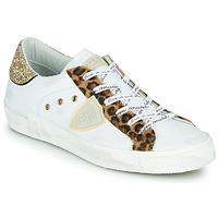 鞋子 女士 球鞋基本款 PHILIPPE MODEL PARIS 白色 / Leopard