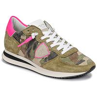 鞋子 女士 球鞋基本款 PHILIPPE MODEL TROPEZ X 迷彩