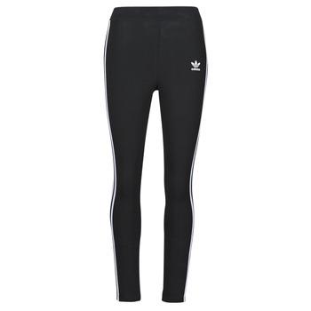 衣服 女士 紧身裤 Adidas Originals 阿迪达斯三叶草 3 STR TIGHT 黑色