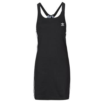 衣服 女士 短裙 Adidas Originals 阿迪达斯三叶草 RACER B DRESS 黑色