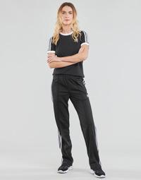 衣服 女士 厚裤子 Adidas Originals 阿迪达斯三叶草 FIREBIRD TP PB 黑色