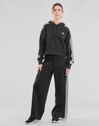 衣服 女士 厚裤子 Adidas Originals 阿迪达斯三叶草 RELAXED PANT PB 黑色