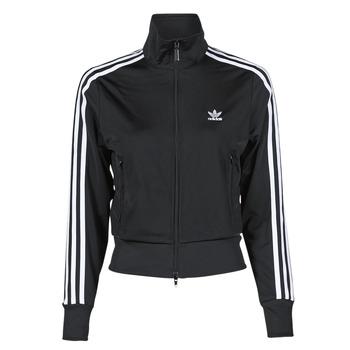 衣服 女士 运动款外套 Adidas Originals 阿迪达斯三叶草 FIREBIRD TT PB 黑色