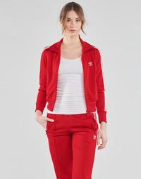 衣服 女士 运动款外套 Adidas Originals 阿迪达斯三叶草 FIREBIRD TT PB 红色