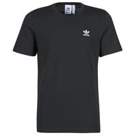 衣服 男士 短袖体恤 Adidas Originals 阿迪达斯三叶草 ESSENTIAL TEE 黑色