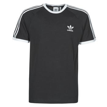 衣服 男士 短袖体恤 Adidas Originals 阿迪达斯三叶草 3-STRIPES TEE 黑色