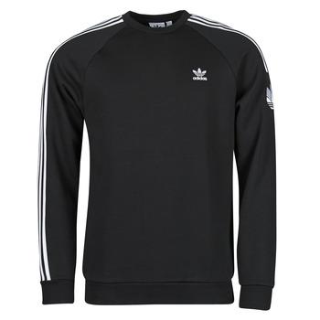 衣服 男士 卫衣 Adidas Originals 阿迪达斯三叶草 3D TF 3 STRP CR 黑色