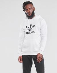 衣服 男士 卫衣 Adidas Originals 阿迪达斯三叶草 TREFOIL HOODIE 白色