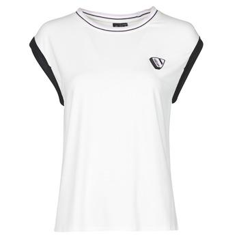 衣服 女士 无领短袖套衫/无袖T恤 Volcom SIIYA KNIT TOP 白色