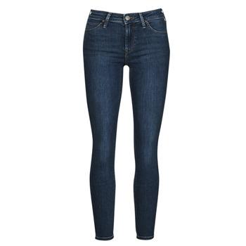 衣服 女士 牛仔铅笔裤 Lee SCARLETT 蓝色