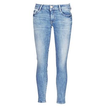 衣服 女士 紧身牛仔裤 Le Temps des Cerises PULP SLIM 7/8 蓝色