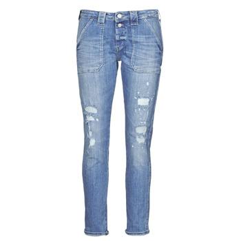 衣服 女士 女士Boyfriend牛仔裤 Le Temps des Cerises CARA 蓝色