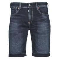 衣服 男士 短裤&百慕大短裤 Le Temps des Cerises JOGG BERMUDA 蓝色 / 黑色