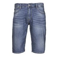 衣服 男士 短裤&百慕大短裤 Le Temps des Cerises JOGG BERMUDA 蓝色