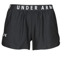 衣服 女士 短裤&百慕大短裤 Under Armour 安德玛 PLAY UP SHORTS 3.0 黑色