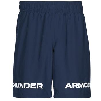 衣服 男士 短裤&百慕大短裤 Under Armour 安德玛 UA WOVEN GRAPHIC WM SHORT 蓝色