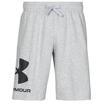 衣服 男士 短裤&百慕大短裤 Under Armour 安德玛 UA RIVAL FLC BIG LOGO SHORTS 灰色