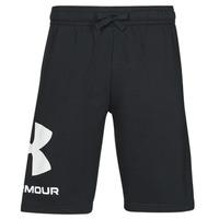 衣服 男士 短裤&百慕大短裤 Under Armour 安德玛 UA RIVAL FLC BIG LOGO SHORTS 黑色