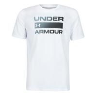 衣服 男士 短袖体恤 Under Armour 安德玛 UA TEAM ISSUE WORDMARK SS 白色