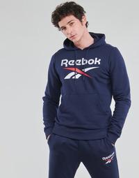 衣服 男士 卫衣 Reebok Classic RI FT OTH BL HOODIE 蓝色