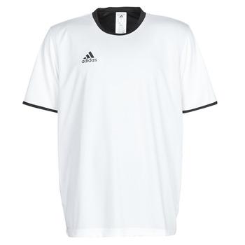衣服 男士 短袖体恤 adidas Performance 阿迪达斯运动训练 TAN REV JSY 白色