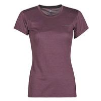 衣服 女士 短袖体恤 adidas Performance 阿迪达斯运动训练 W Tivid Tee 紫罗兰