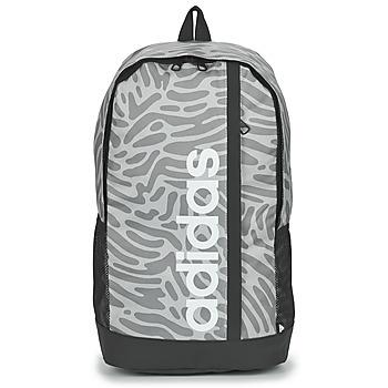 包 女士 双肩包 adidas Performance 阿迪达斯运动训练 GRAPHIC BP 灰色