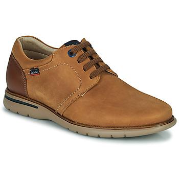 鞋子 男士 德比 CallagHan PARKLINE 棕色