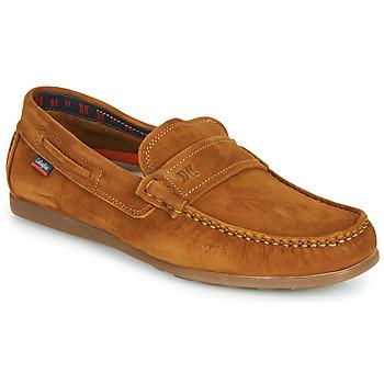 鞋子 男士 皮便鞋 CallagHan DRIVELINE 棕色