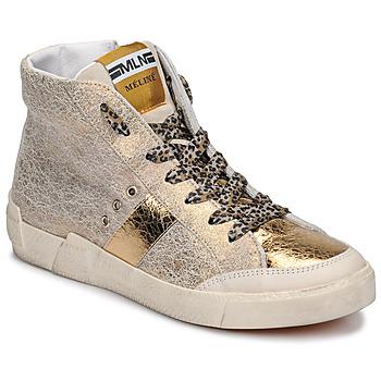 鞋子 女士 高帮鞋 Meline  金色