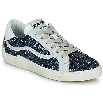 鞋子 女士 球鞋基本款 Meline  海蓝色