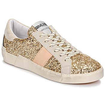 鞋子 女士 球鞋基本款 Meline  白色