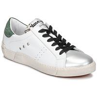 鞋子 女士 球鞋基本款 Meline  白色 / 绿色